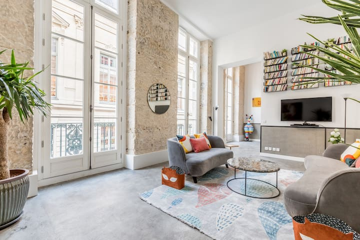 4 bedrooms in the heart of Paris