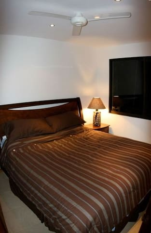 Master Bedroom with A/C and private bathroom