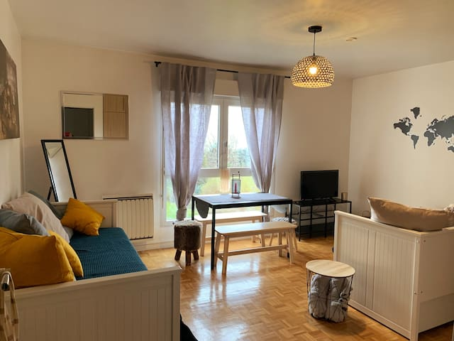 Studio cosy 4 personnes Disney/Paris/Val d'Europe