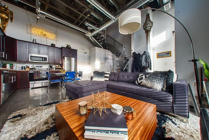 Trendy Loft, walking distance to downtown - Saskatoon - Loft
