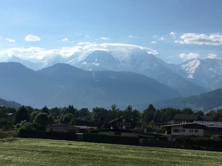 T1 Bis Meublé à Sallanches