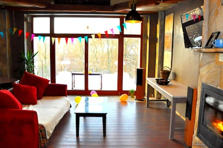 rooms in the old button factory /  flexible offers - Tisá - House