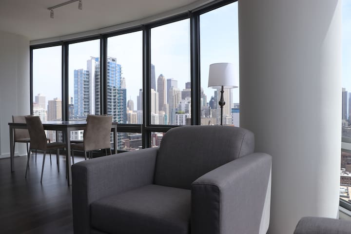 Take a seat and take in the view! *Not exact unit picture. Layout and decor will be similar