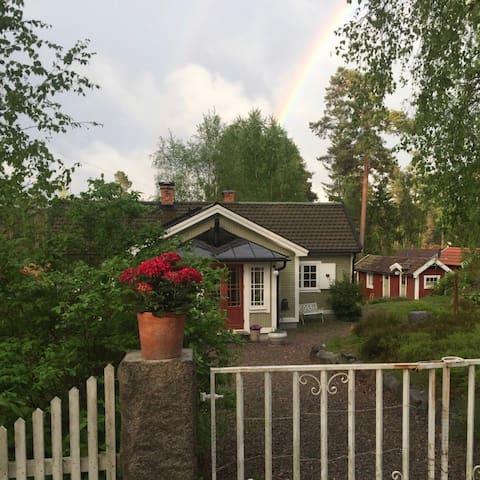Pepparkakshuset i Stavsnäs By - Stavsnäs