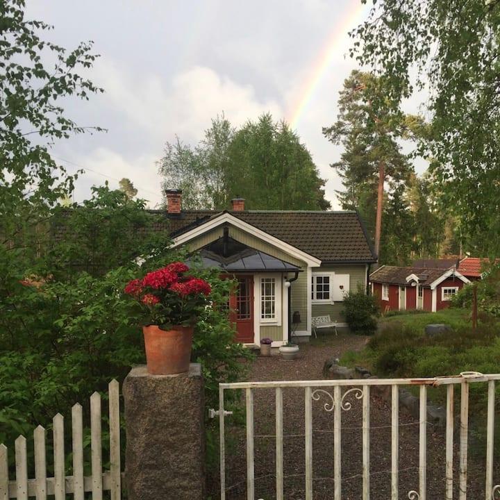 Pepparkakshuset i Stavsnäs By