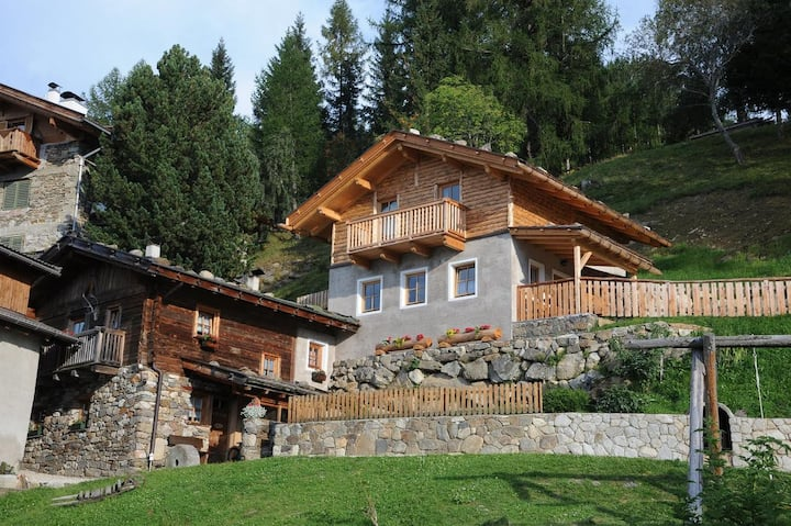 "Charming Holiday Home ""Fichtnhittl"" with Mountain View, Wi-Fi, Balcony, Terrace & Garden; Parking Available"
