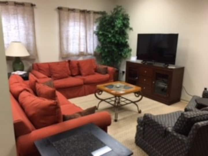 Apartment within walking distance of amenities.