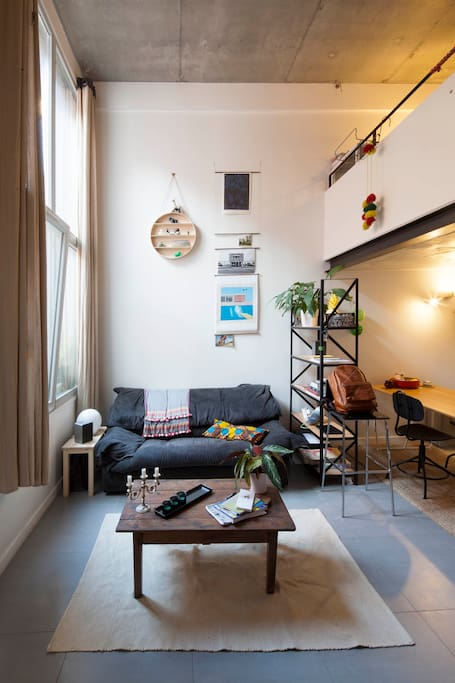 Contemporary loft next to paris lofts louer pantin le de france france - Achat loft ile de france ...