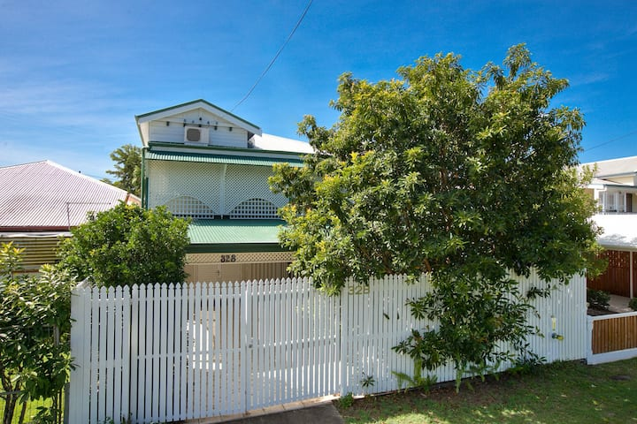 Ground level of Queenslander Home on Draper