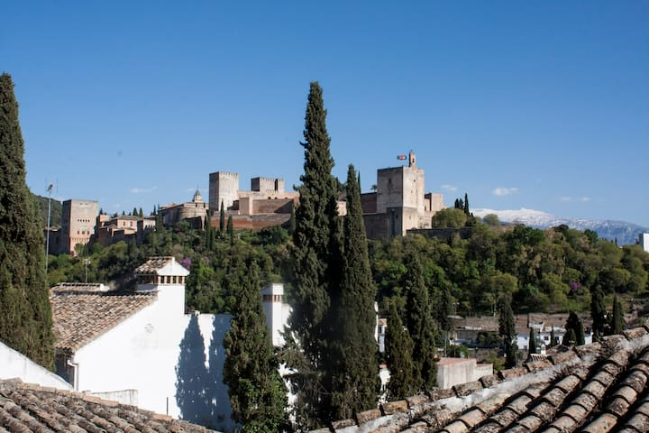 Charming traditional apartment, great location - Granada - Apartamento