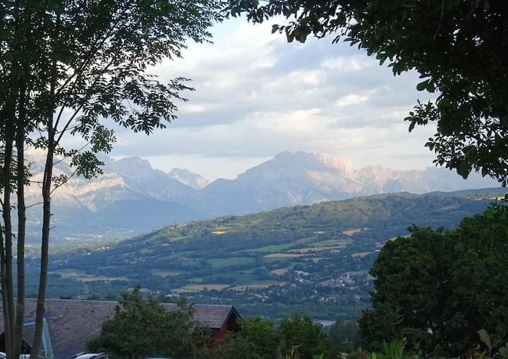 Chalet beautiful view Mountain  teleski 100metres