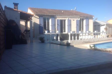 Maison calme avec piscine - Ganges - Loma-asunto