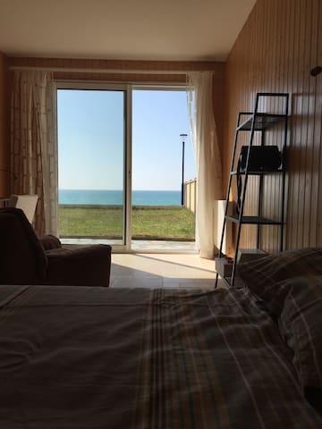 Maison avec vue splendide face a la mer - Hauteville-sur-Mer - Talo