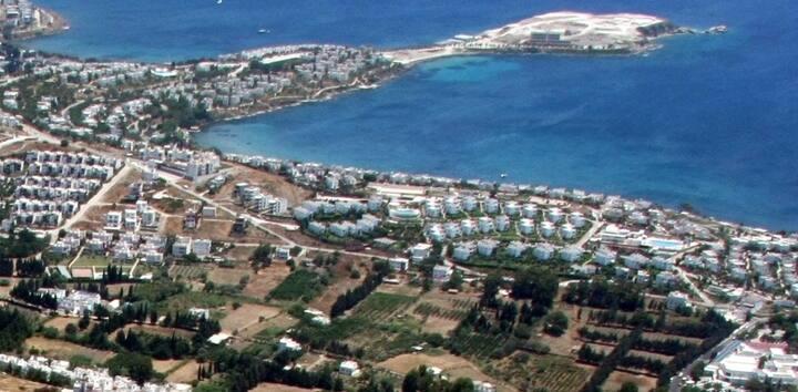 Bodrum Akçabük Sitesi Akyarlar'da Deniz Manzaralı