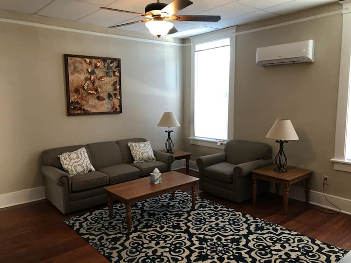Newly renovated apartment in Olde Town w/ King bd
