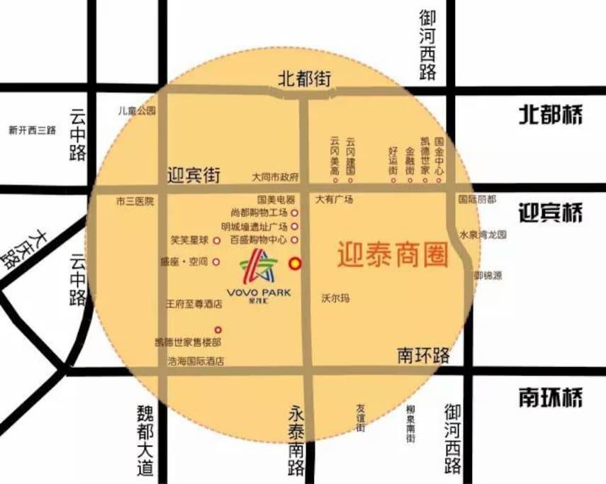 大楼位置图