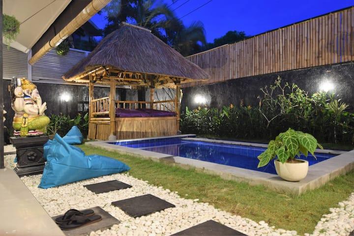 Lovely & peaceful Villa 8MN from Beach !