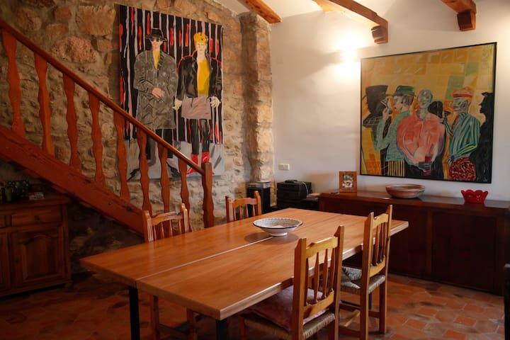 Casa Carrascal (7 plazas) 120€ la noche