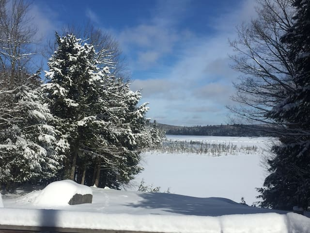 Escape on a quiet lakefront - Saranac Lake
