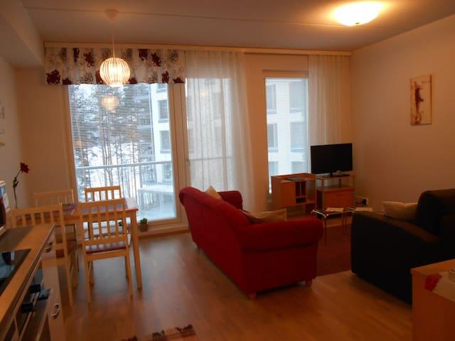 Uusi yksiö autotallipaikalla 2,5 km keskustasta - Jyväskylä - Apartemen