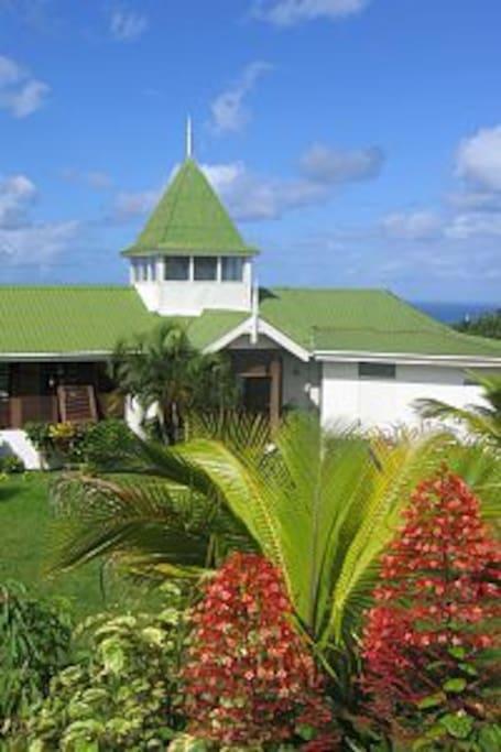 The villa Frangipani