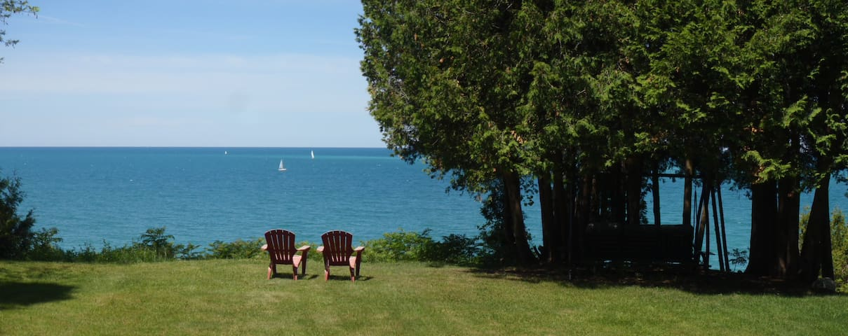 Lakefront Tranquility on Lake Huron - Bluewater - Blockhütte