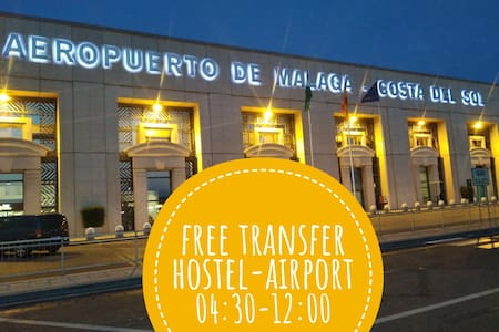 Free transfer HOSTEL-AIRPORT