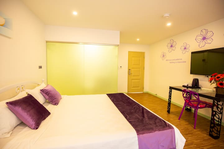美地之家酒店式公寓优雅双人房 2