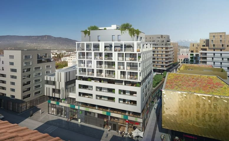 Nouvel moderne studio Annemasse Gare