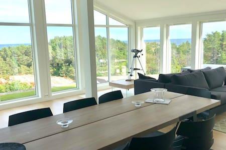 High standard cabin w/ seaview Tromøy, Arendal