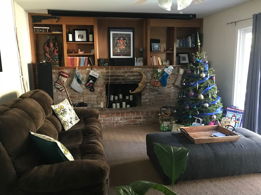 Living Room (Christmas tree will be gone!)