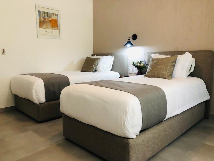 CH105 Habitación tipo Hotel 5 Min Expo Guadalajara