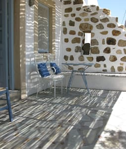 Seaside studio, lovely terrace. - Patmos