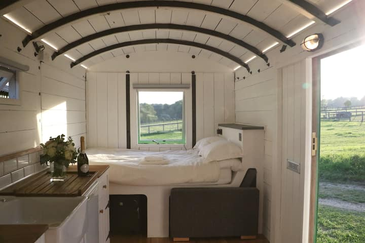 Luxury Converted Train Carriage Tiny House