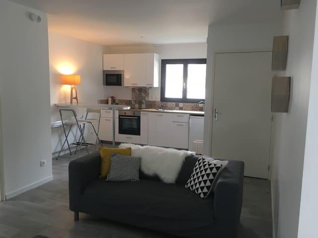 Magnifique T2 pro/détente parking - La Côte-Saint-André - Wohnung
