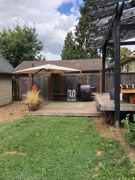 Backyard to enter studio
