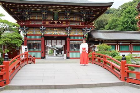 Waon(和音) Room303.40min(bus) to Yutoku Inari Shrine - Takeo
