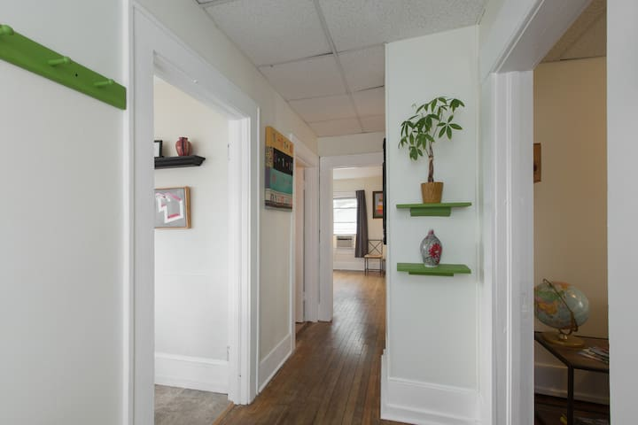 Hallway From Top of Stairs