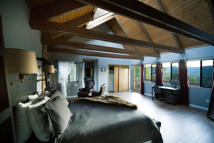 Wake up to stunning views in the master bedroom!