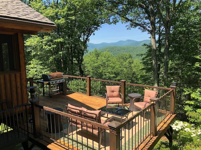 Modern Mountain Chalet on 15 Acre Catskills Estate