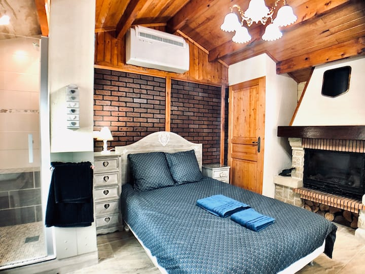 ★★Cosy Lodge★★Cooling Parking near Disney & Paris