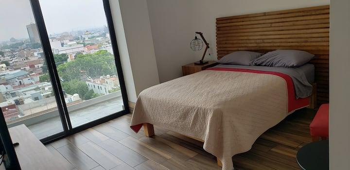 Habitación con Balcón y vista maravillosa PARKING
