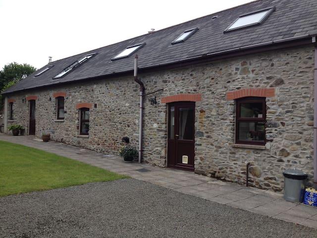 Rhos Barn  is a Traditional Welsh Barn