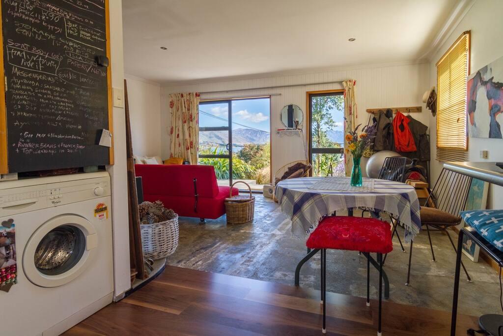Interior open plan living