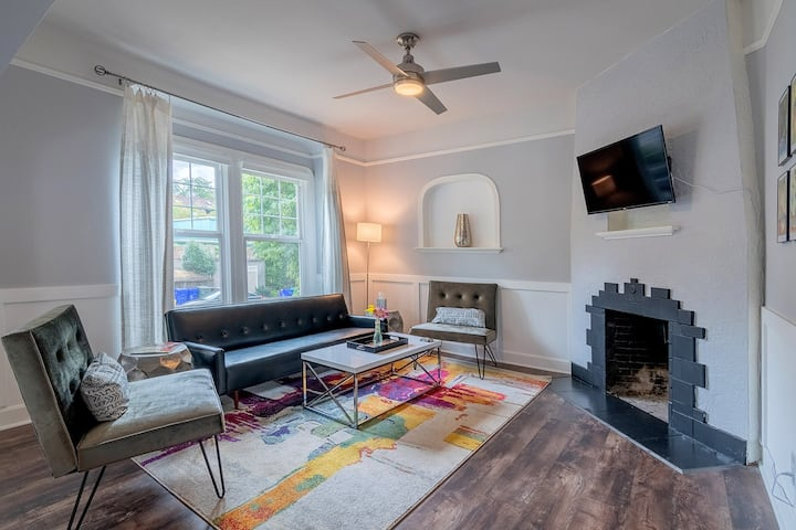 Private sanctuary in the heart of the city
