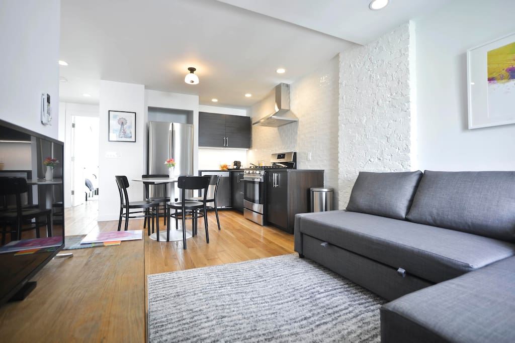 """""""The apartment is fresh and new, comfortable and well appointed, and the location is wonderful."""" - Jill & Marc"""