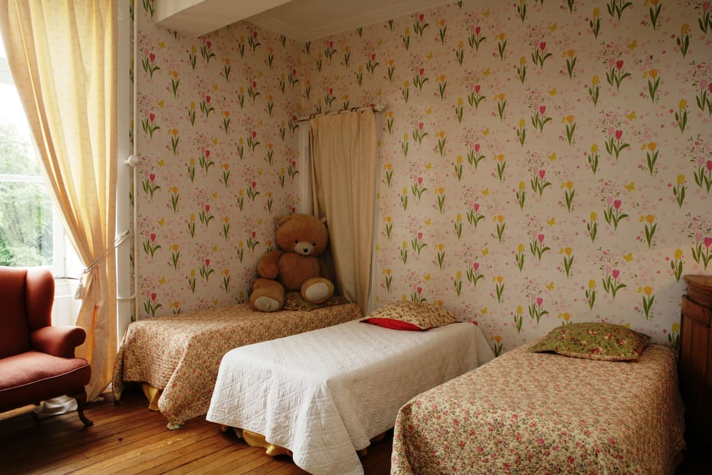Appartment ,located in the castle / kids room