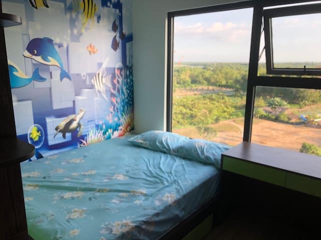 Phòng ngủ dễ thương cho em bé/ beautiful children bed room