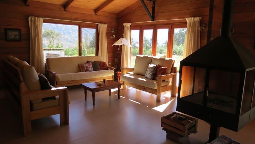Chalet confortable en la Cordillera de los Andes - Huaraz - Dağ Evi