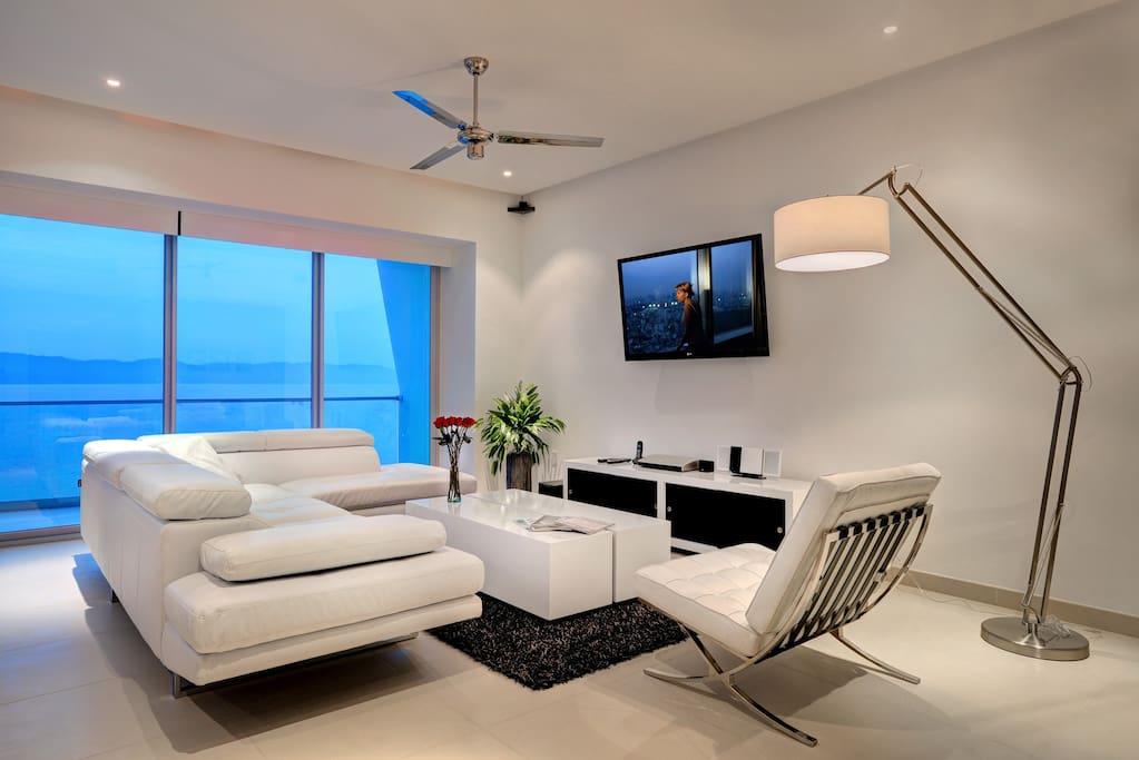 Living Space. Ocean View